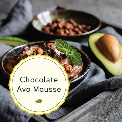 Radiant Reality Nutrition Blog | Magnesium - Chocolate Avocado Mousse