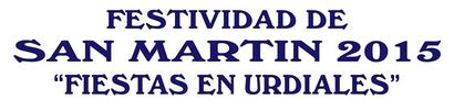 Programa de las fiestas de San Martín en Castro Urdiales