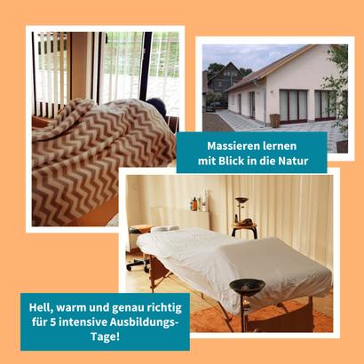 Seminargebäude Massage-Ausbildung bei Seelenbalsam