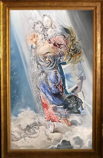 Космическая Мадонна - Сальвадор Дали