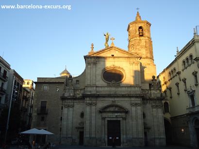 Ла-Мерсе - церковь Богоматери милосердной в Барселоне