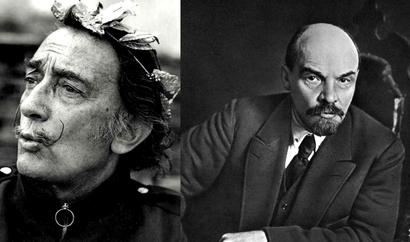 Владимир Ильич Ленин в картинах Сальвадора Дали