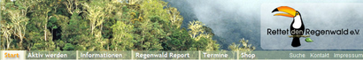 rettet den Regenwald