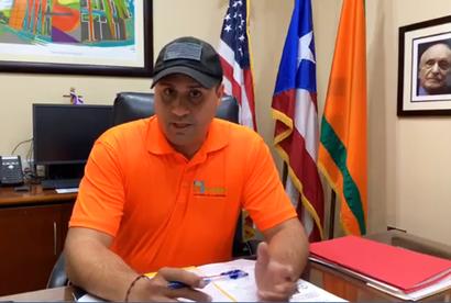El alcalde de Naranjito, Orlando Ortiz Chevres, invita a toda la fanaticada del voleibol  / foto del Hon. Alcalde Ortiz Chevres - Facebook Municipio de Naranjito