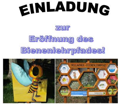 Am 6.Mai 2018 wird in Dellach/Drau der Bienenlehrpfad eröffnet
