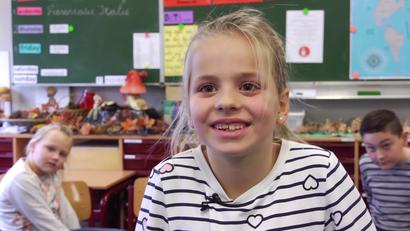 Duits op Nederlandse basisscholen in de grensregio. Beeld: RTV Drenthe / EV1.tv