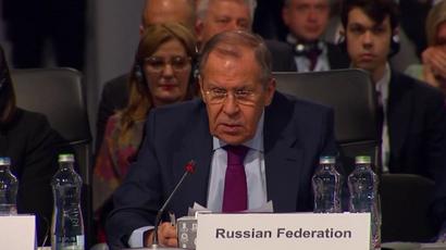 Russische Außenminister Sergei Lawrow