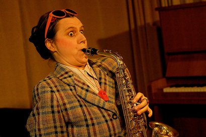 Saxofool Kristina Mohr