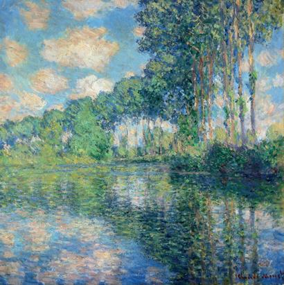 "Claude-Oscar Monet, ""Pioppi lungo l'Epte"""