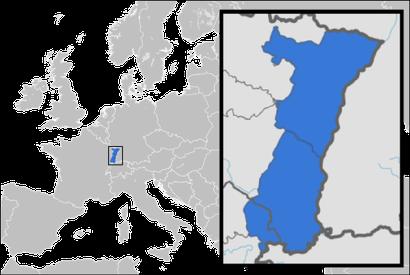 El territorio histórico de Alsacia (hasta 1871)