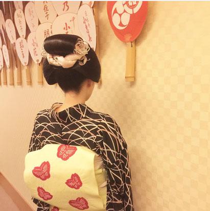舞妓 日本髪