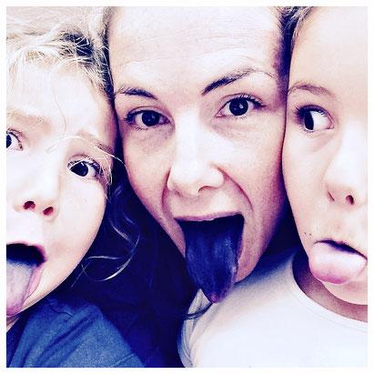 Meine zwei von drei Mäuse und ich - wieso meine Zunge Blau ist? Cupcake Party!