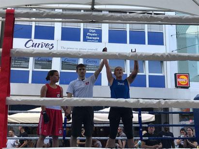 3. Sieg für Yvonne Birker - BOXING TEAM ITTIGEN - 02.06.2018 - 2. LC-CUP 2018