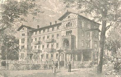 Grand Hotel Bellevue 1905 - Archiv W. Malek