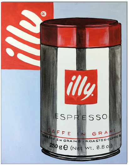 Illy's Coffee Can Art