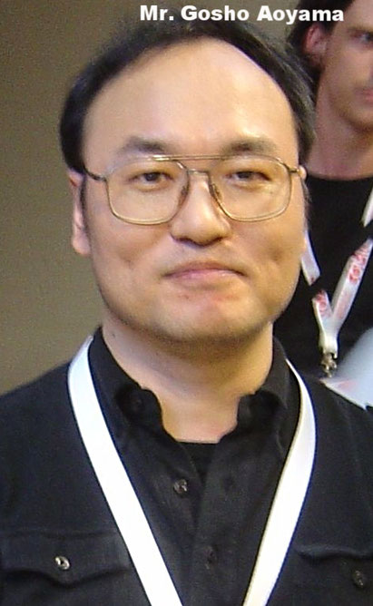 Mr. Gosho Aoyama the creator of Detective Conan Source: wikipedia