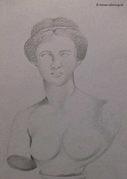 Büste Aphrodite, Antike