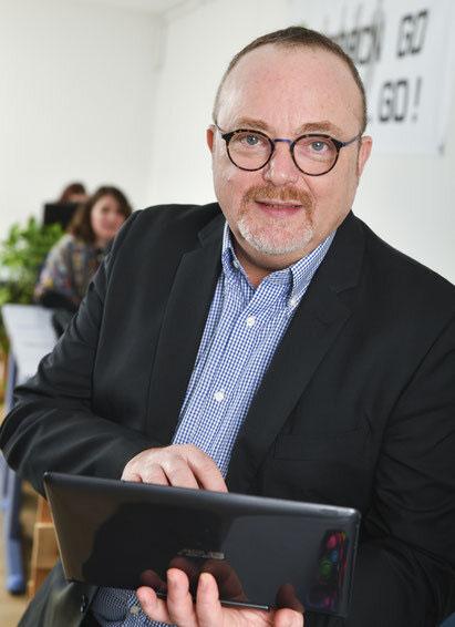 Vincent Catteau, dirigeant de Posteam entreprise de location de personnel sur le 79 et le 17