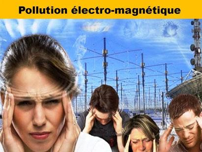 Pollutions électromagnétiques - Lithothérapie - Casa bien-être