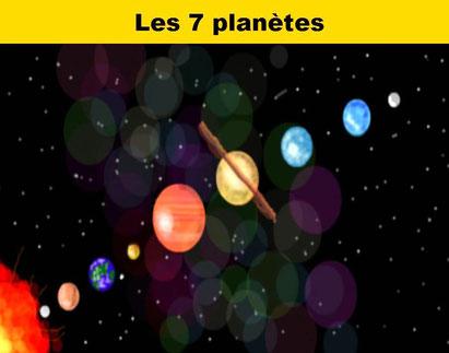 Les 7 planètes - Lithothérapie - Casa bien-être