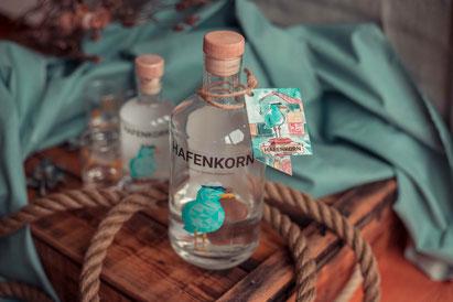 Das neue Flaschenheft an der HAFENKORN Buddel