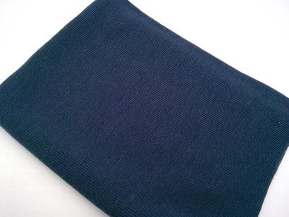 WB12 grobes Bündchen dunkel blau