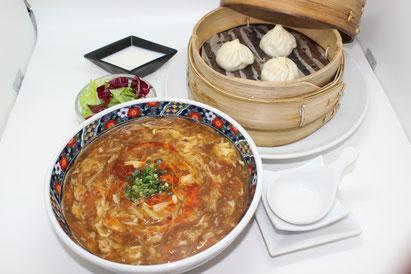 【酸辣湯麺セット】