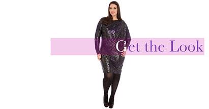 elegantes Kleid in Größe 46