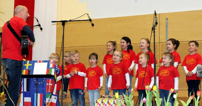 Kinderchor Cantonino 2019 - Leitung: Michael Herbst
