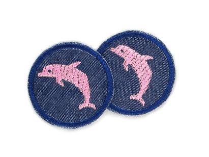 Bild: Jeansflicken Delfin mini Patch Hosenflicken zum aufbügeln