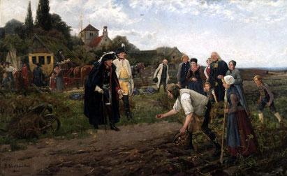 """""""Der König überall"""" von Robert Warthmüller"""