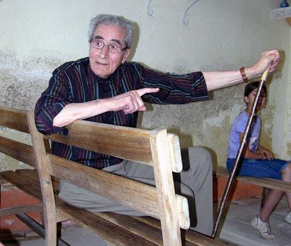 Le président de l'association Mémoire Brionnaise M. Armand MERLE