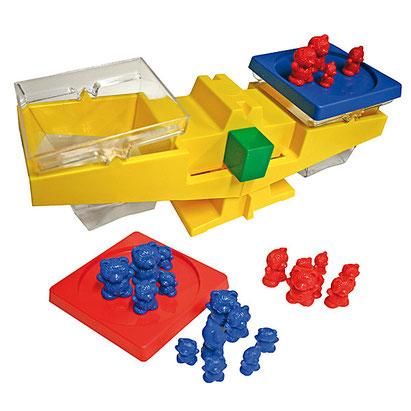 Balance Roberval pour apprendre en s'amusant avec les enfants.