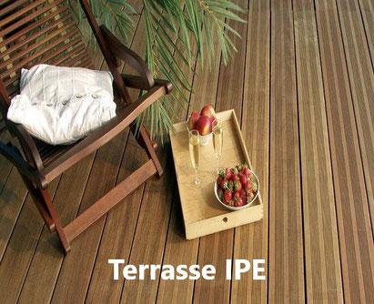 Lame de terrasse en ipé à prix pas cher