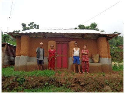 Haus von Krishna Bahadur Thapamagar