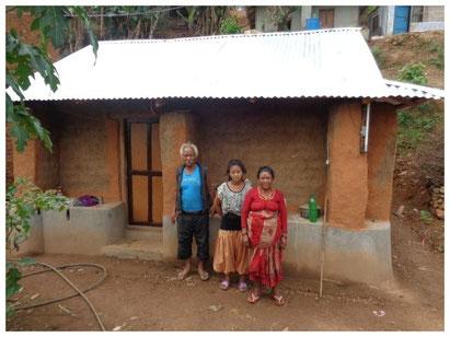 Haus von Chandra Bahadur Magar