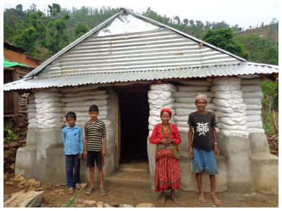 Haus von Ratna Bahadur Mijar