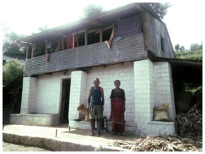 Haus von Ratna Bahadur Pandit