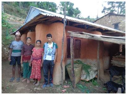 Haus von Sitaram Adhikari
