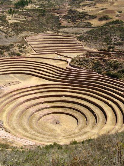 Reiseroute Peru Urlaub: Urubambatal, Moray
