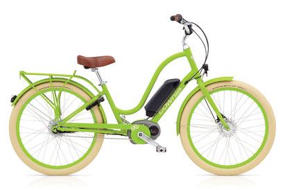 Bild: Electra Bikes Townie Go 2016 Lime Damen Bosch Performance 400Wh 2016