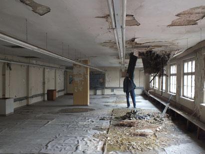Alte Fabrikhalle im Stadtkern