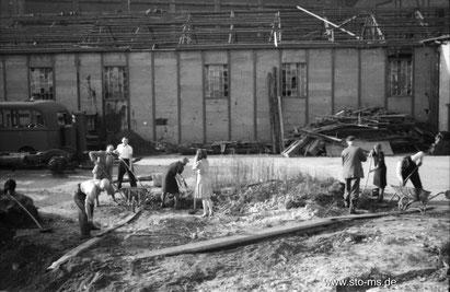 Herbst 1945 im Hafen - ULB