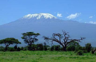 Aussicht vom Amboseli Nationalpark