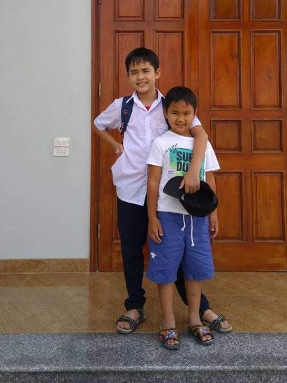 Minh und Dung in den Tet Ferien 2019 in Ha Tinh