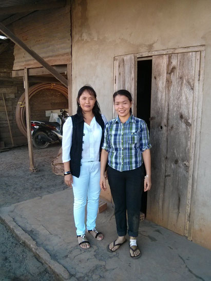 Luong and her sister Tinh