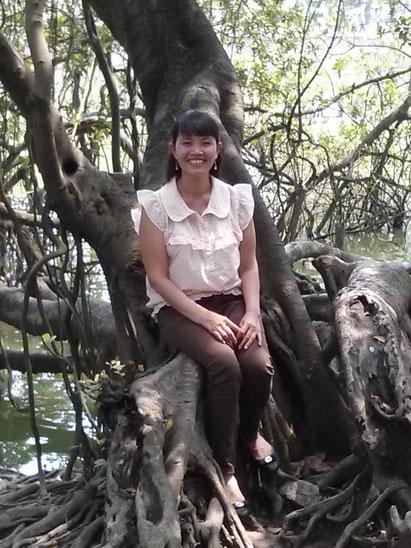 Luong at Hoan Kiem Lake