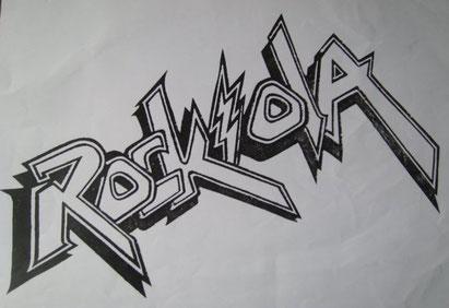 Logo de la tienda Rockola, fundada por Gusstavo Arenas en el Centro Comercial Vía Libre