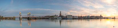 Panorama zonsopkomst Kampen