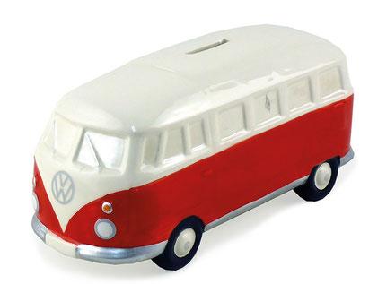 VW T1 BUS SPARDOSE KERAMIK (1:22)